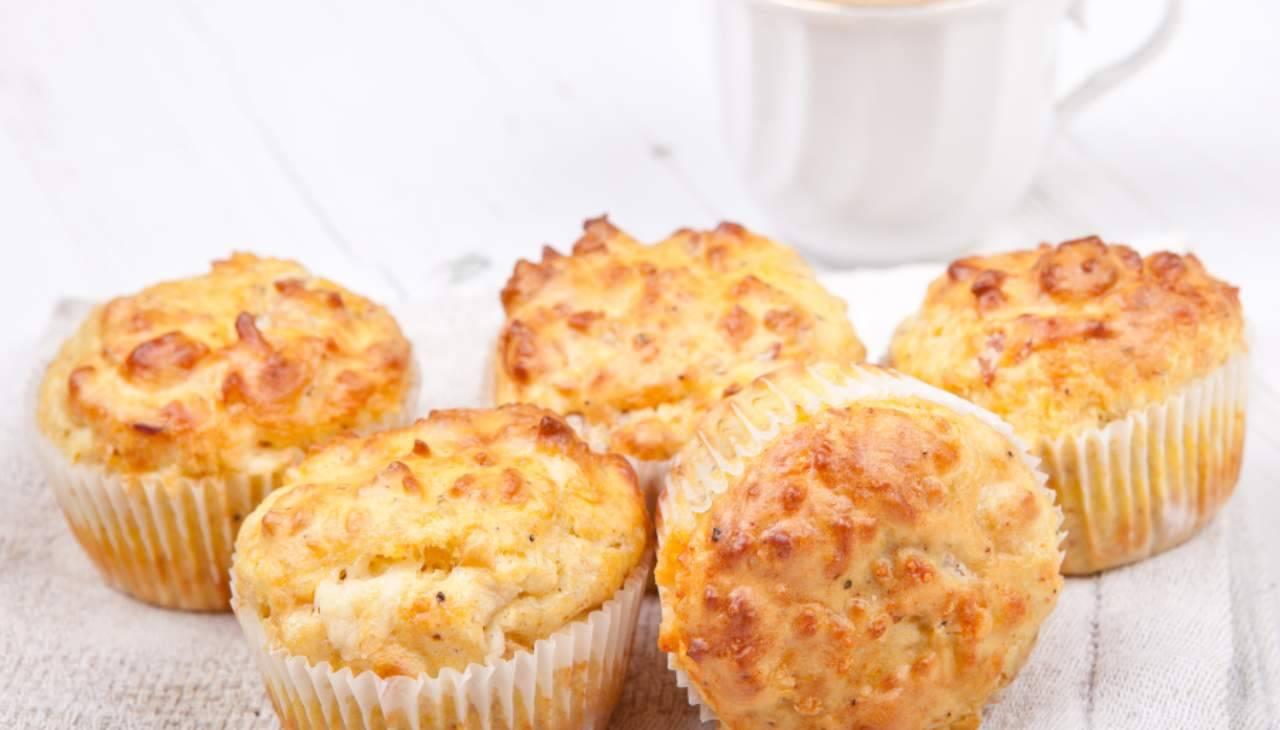 muffin finger food salati