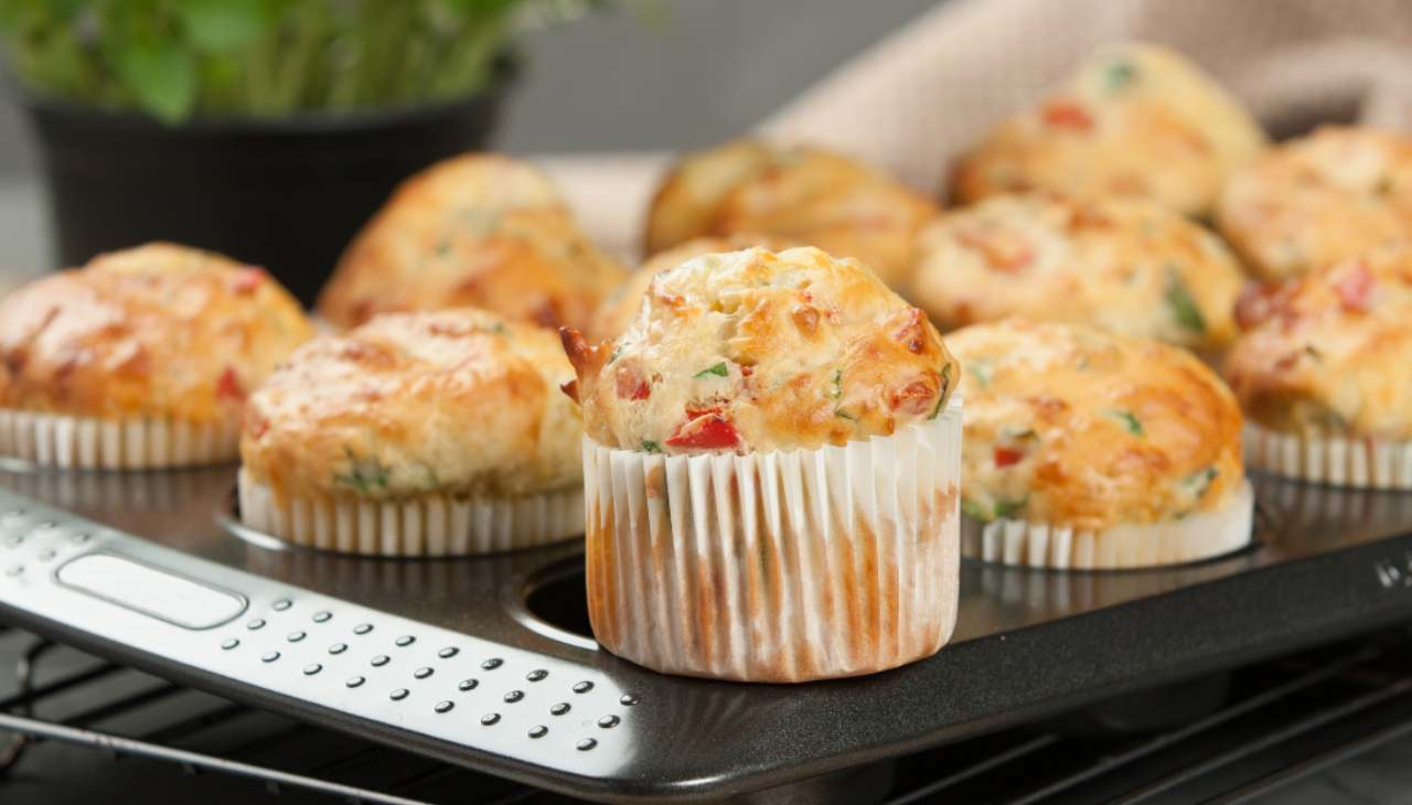 muffin finger food