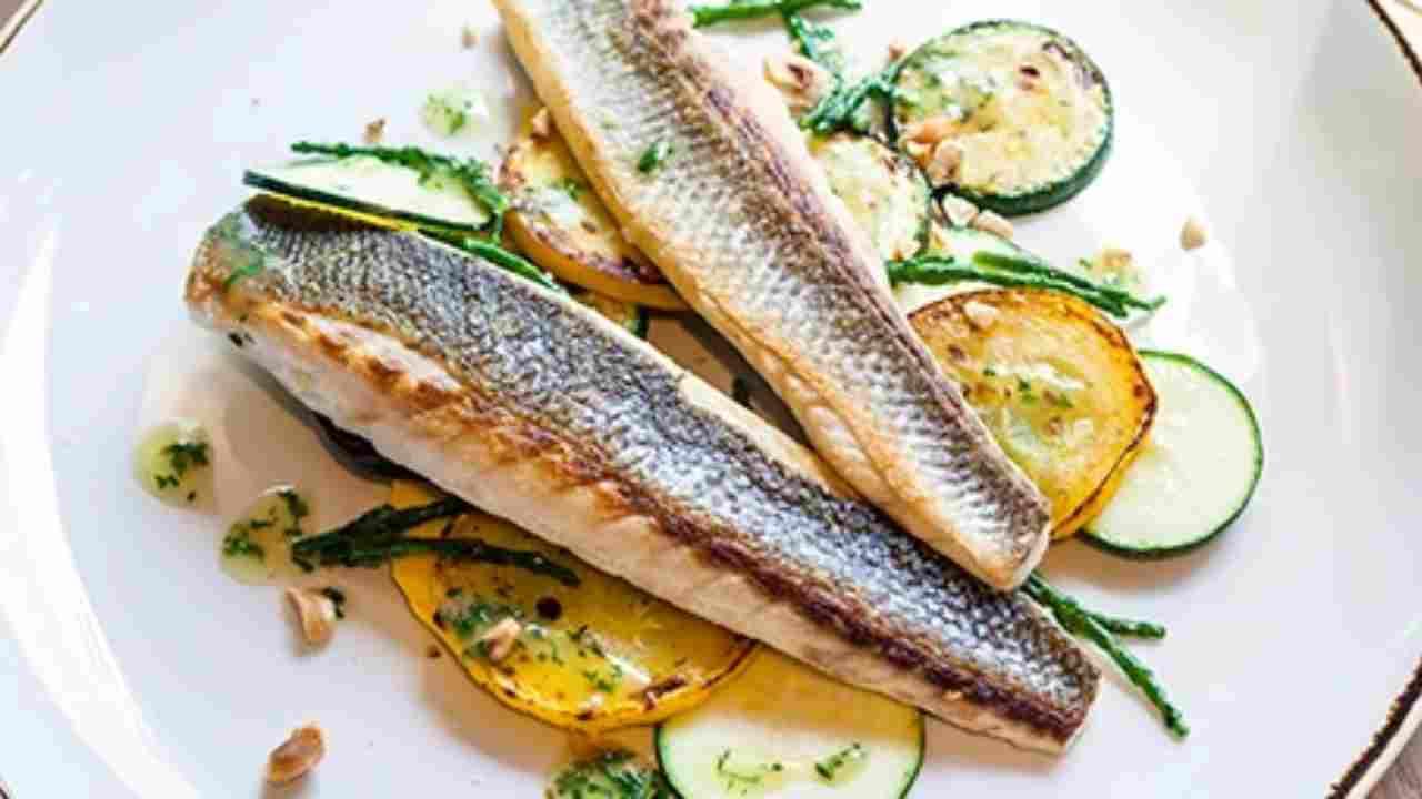 pesce alla griglia c