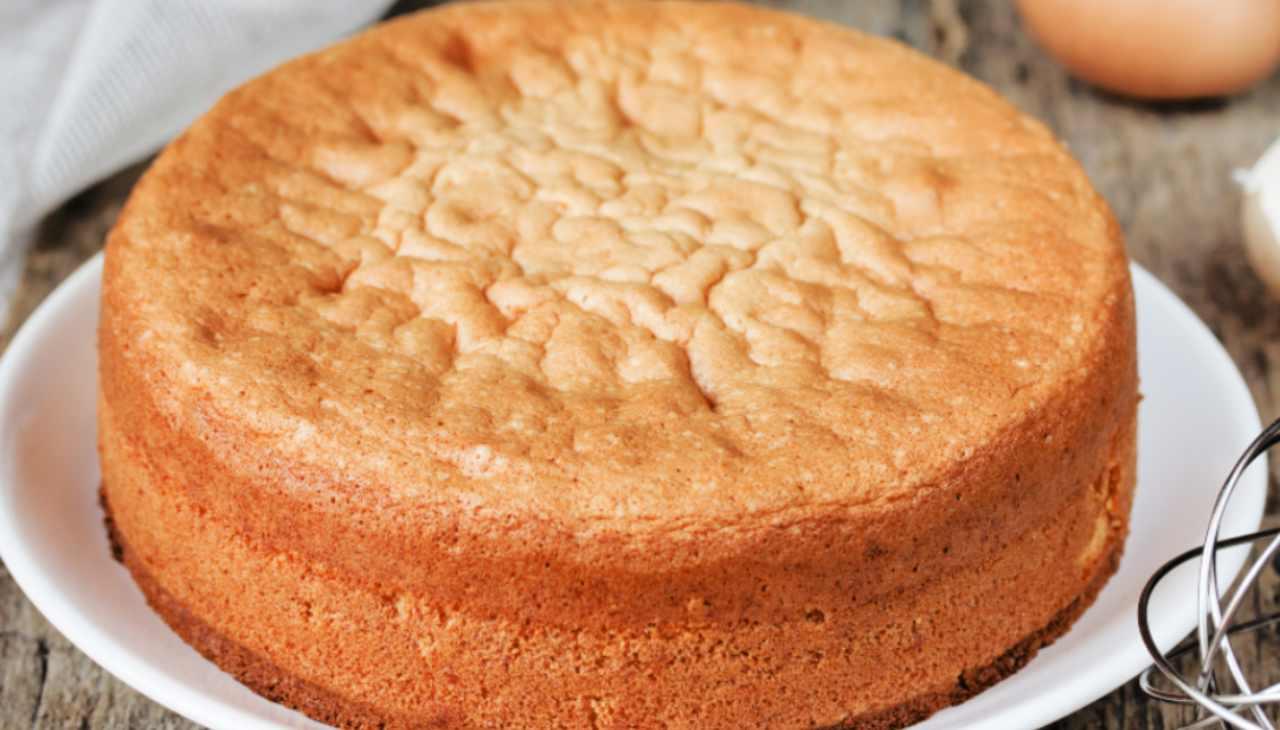 Pan di Spagna torta alta