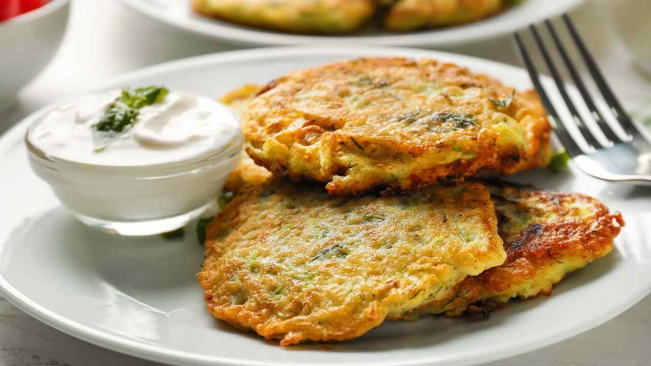 pancakes salti di zucchine