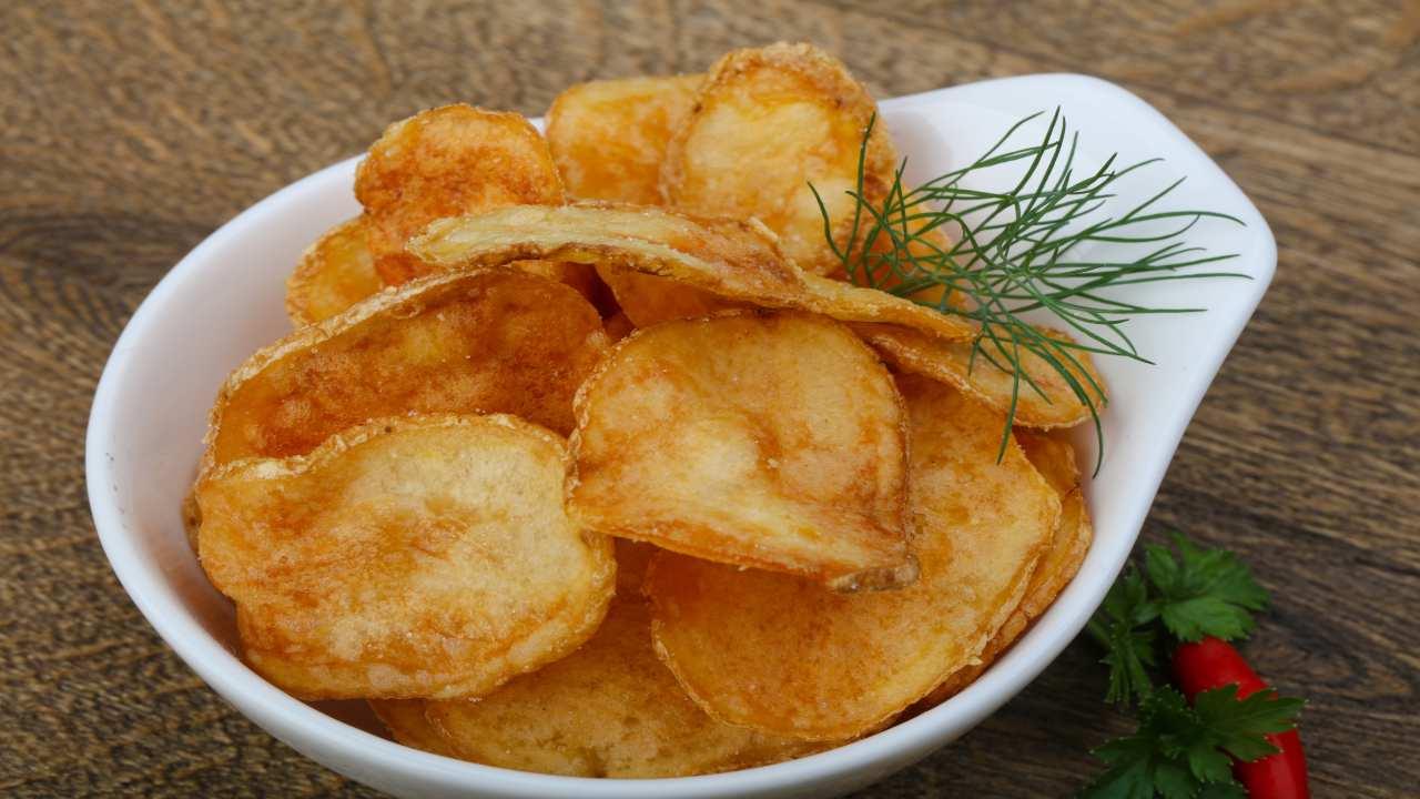 Chips di patate fritte di Bonci