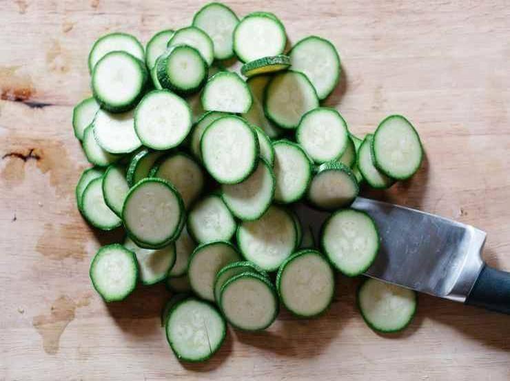 Patate zucchine e mozzarella