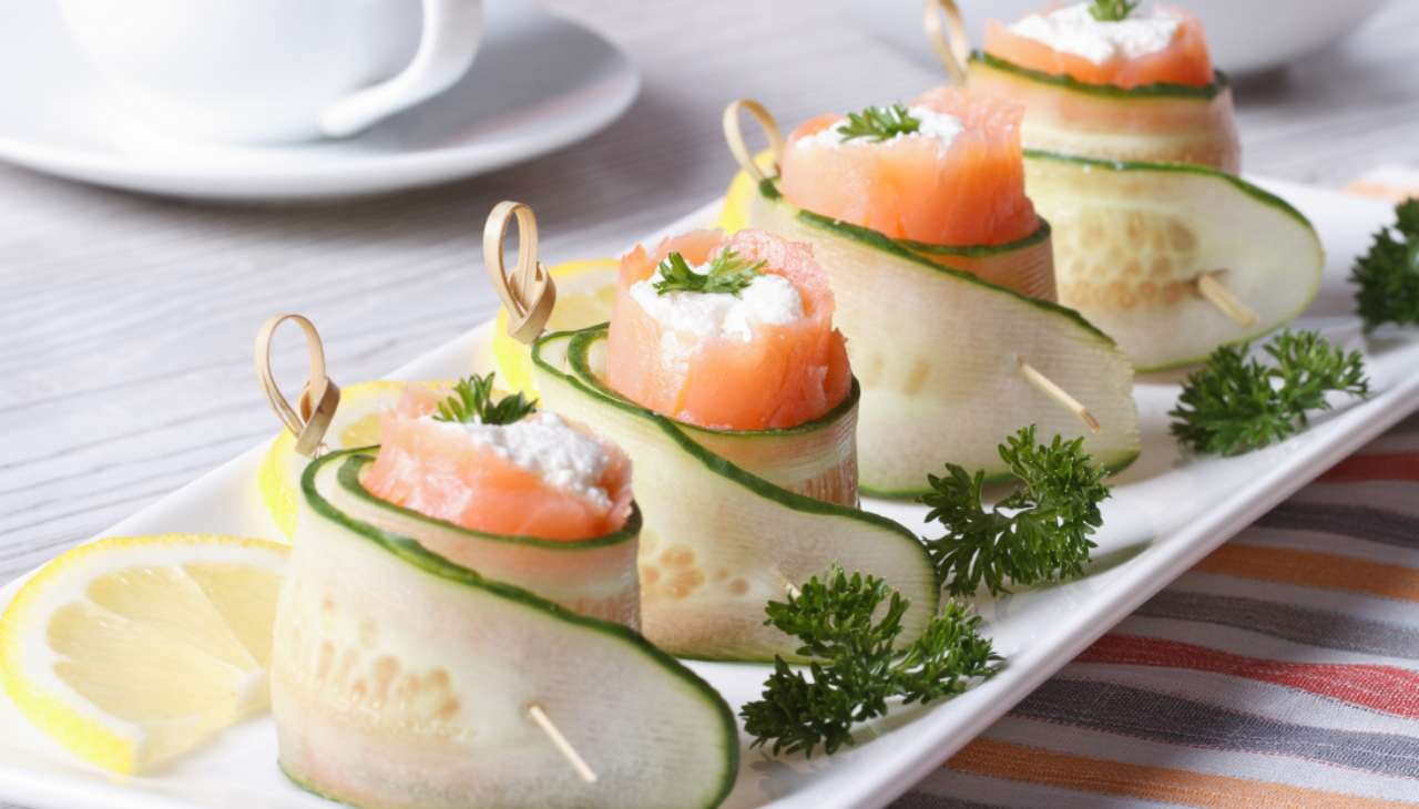 rotolini pesce verdura