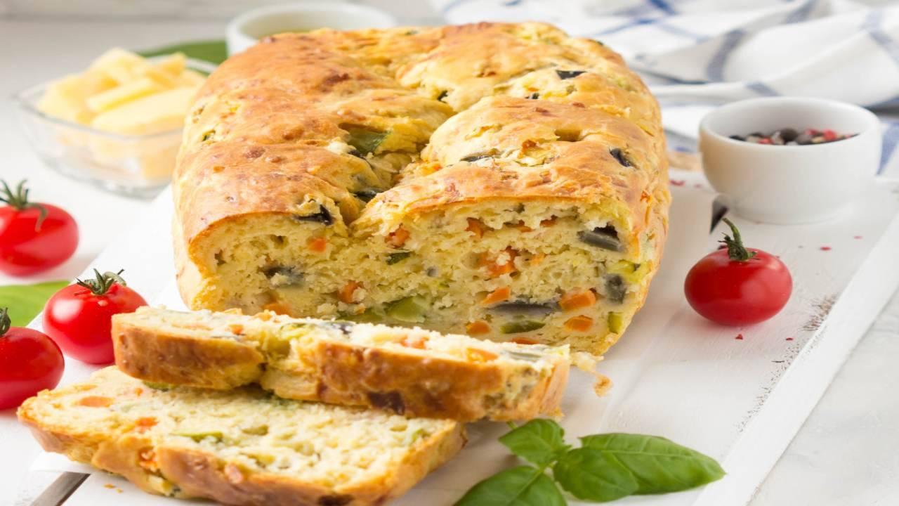 Plumcake con zucchine