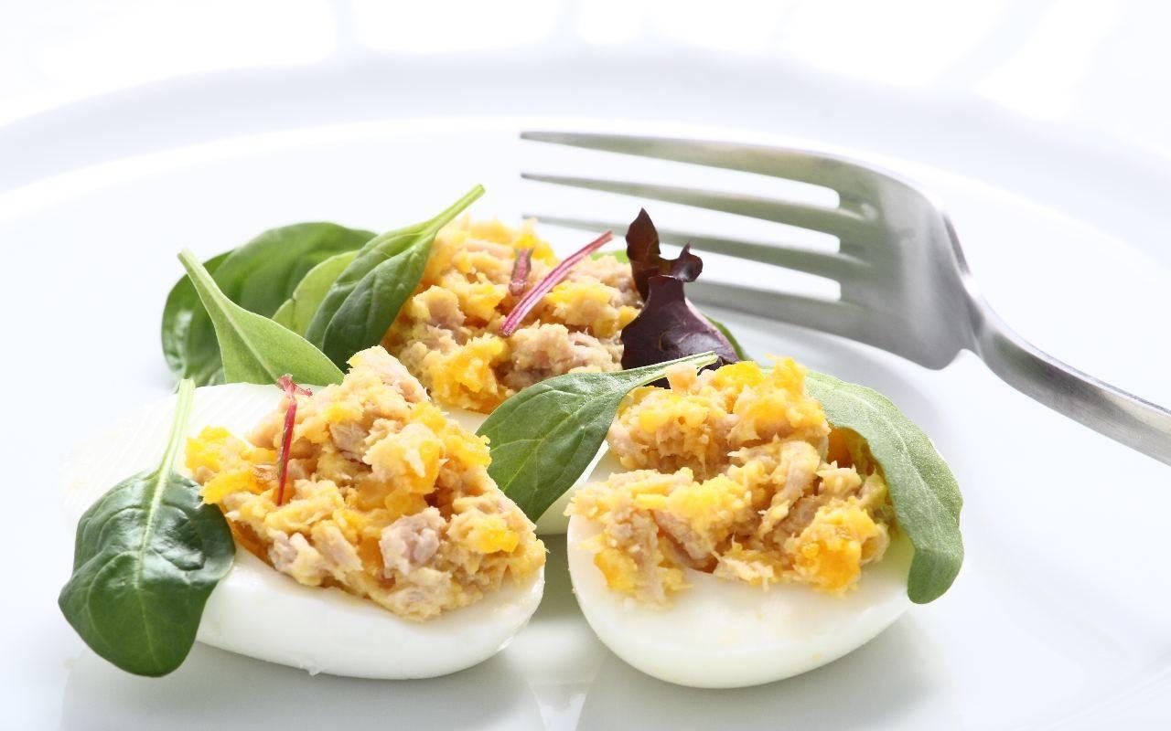 uova e tonno FOTO ricettasprint