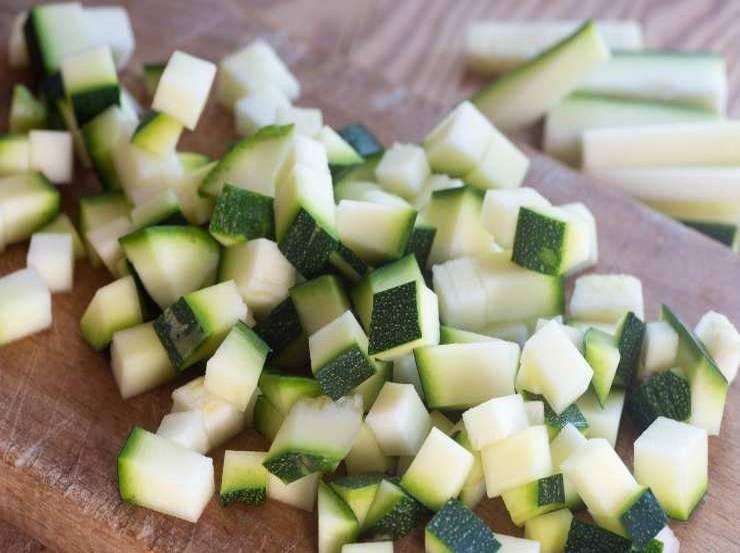 Cestini con crema di zucchine