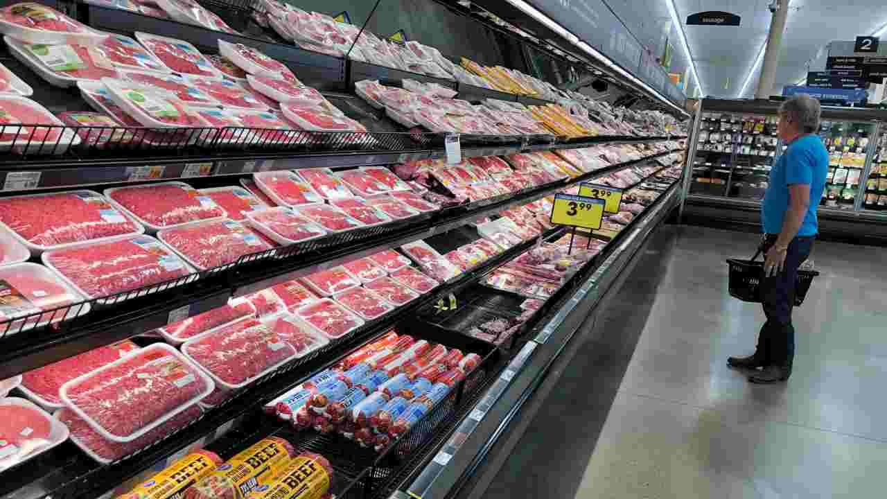 ritiro alimenti carne
