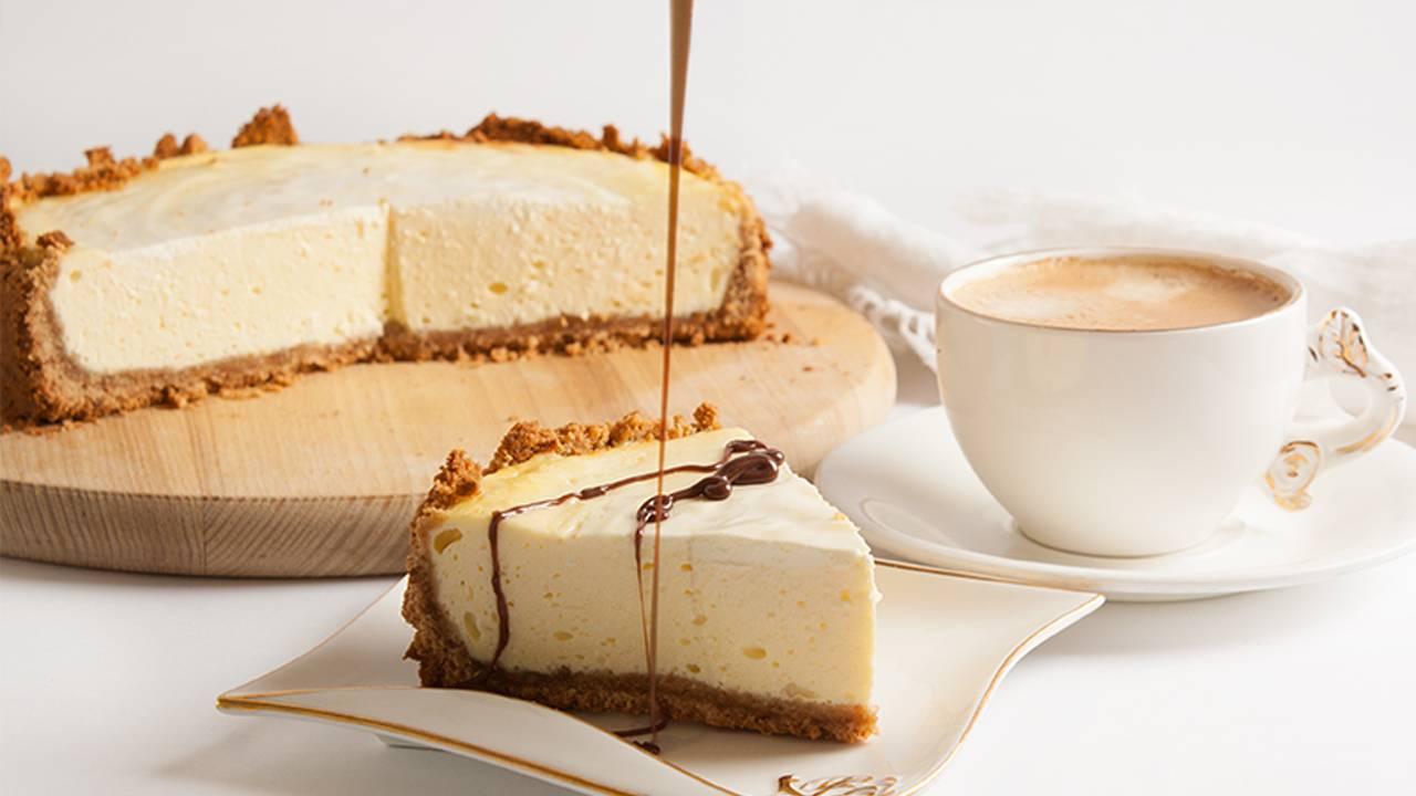 torta al caffè senza cottura