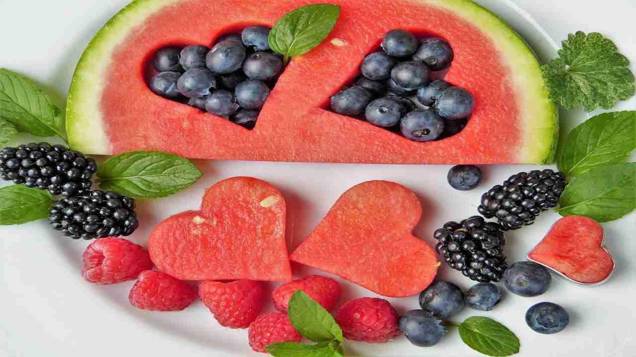 Frutta dietetica dieta