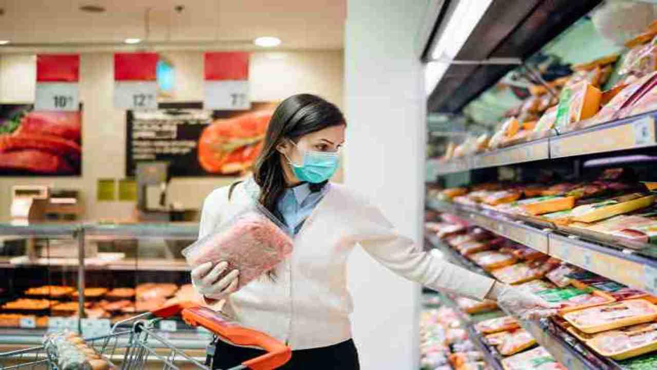 ritiro alimentare formaggio supermercato