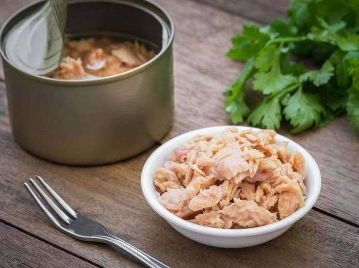 Baguette ripiena con tonno e ravanelli FOTO ricettasprint