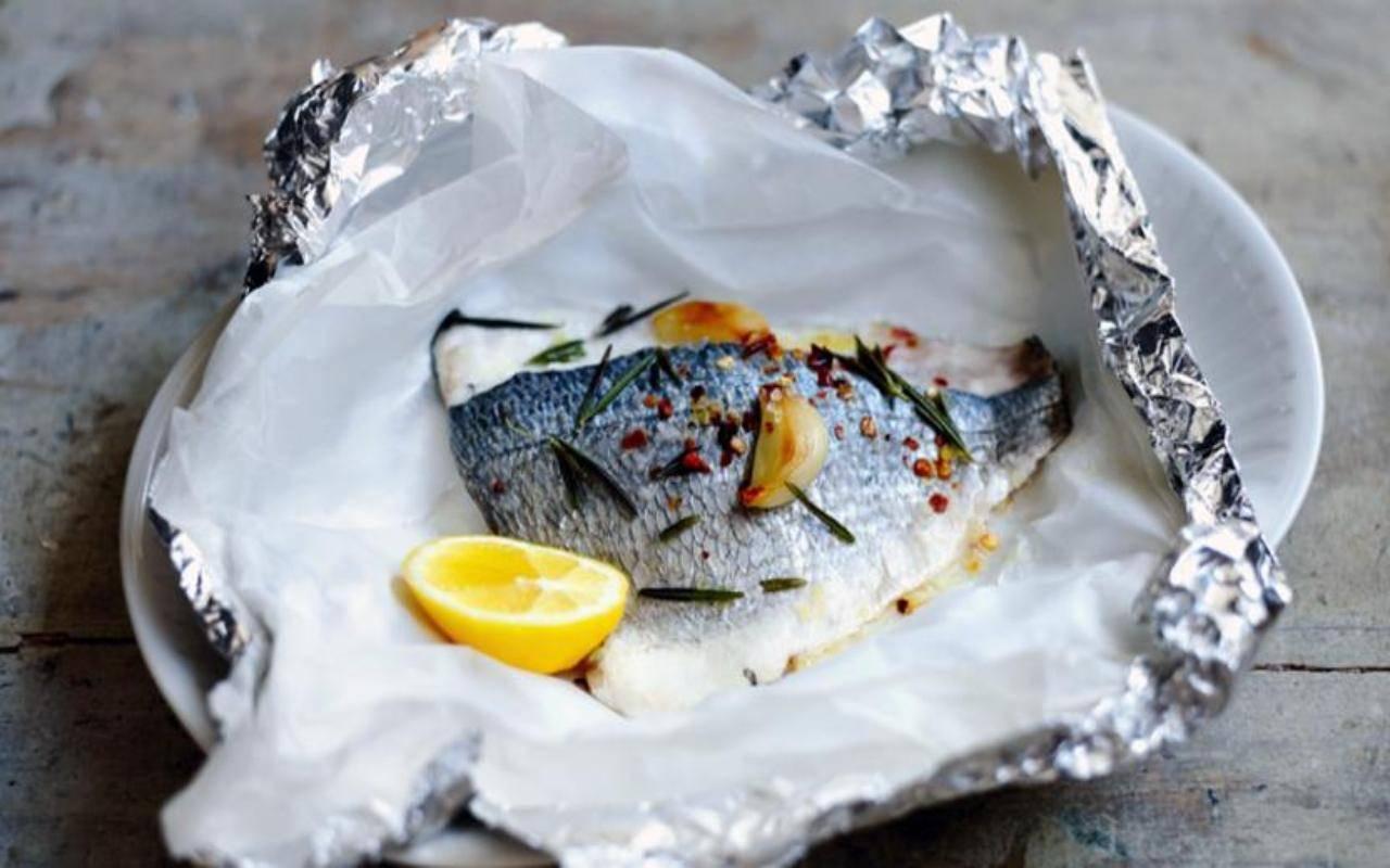 Pesce al forno FOTO ricettasprint