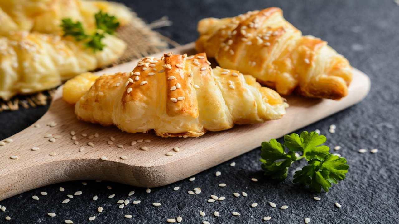 Pasta sfoglia con formaggio