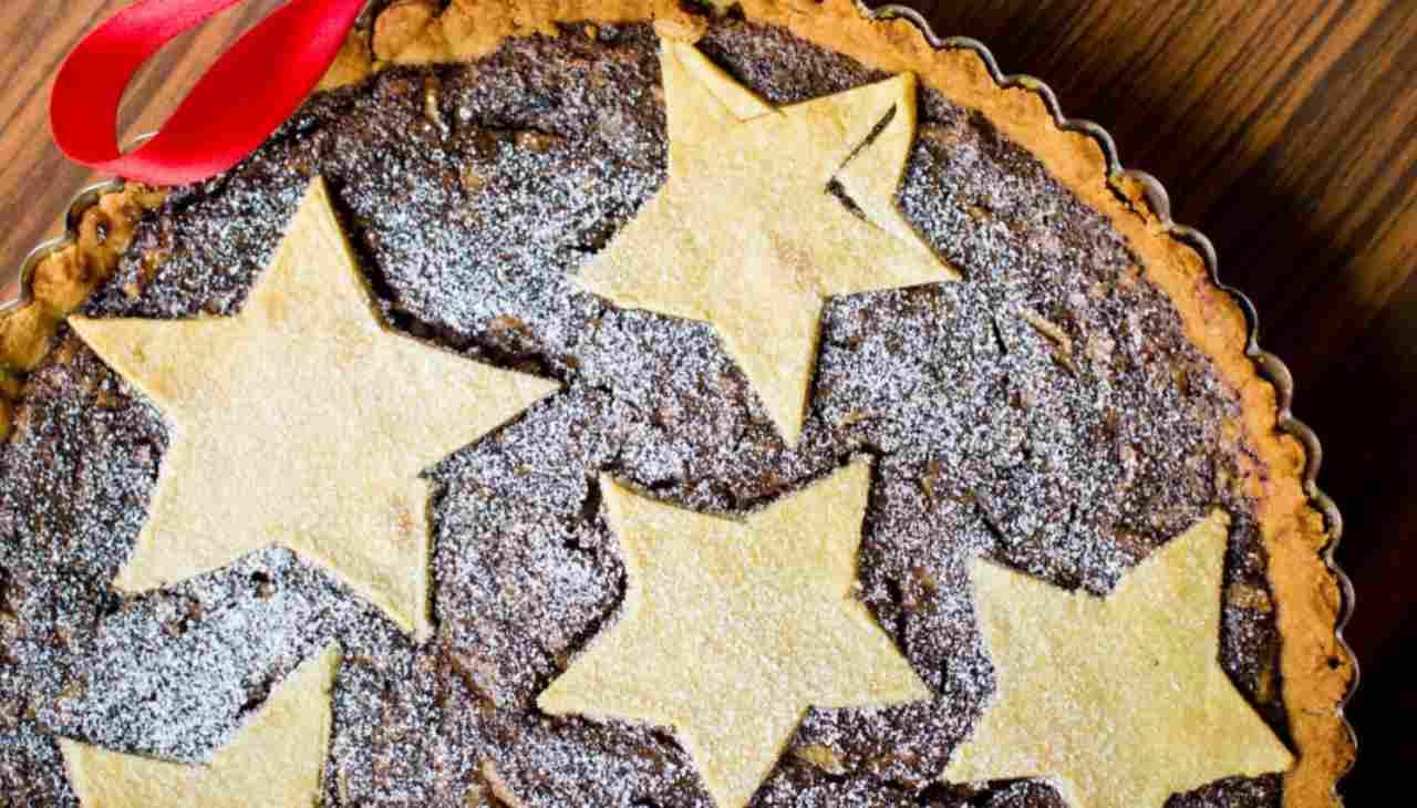 crostata dolce cioccolato