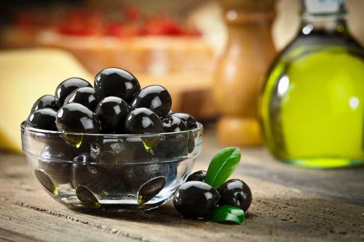 Pasta sfoglia con olive