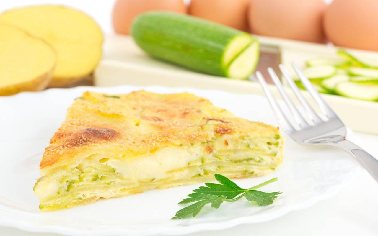 uova e zucchine FOTO ricettasprint