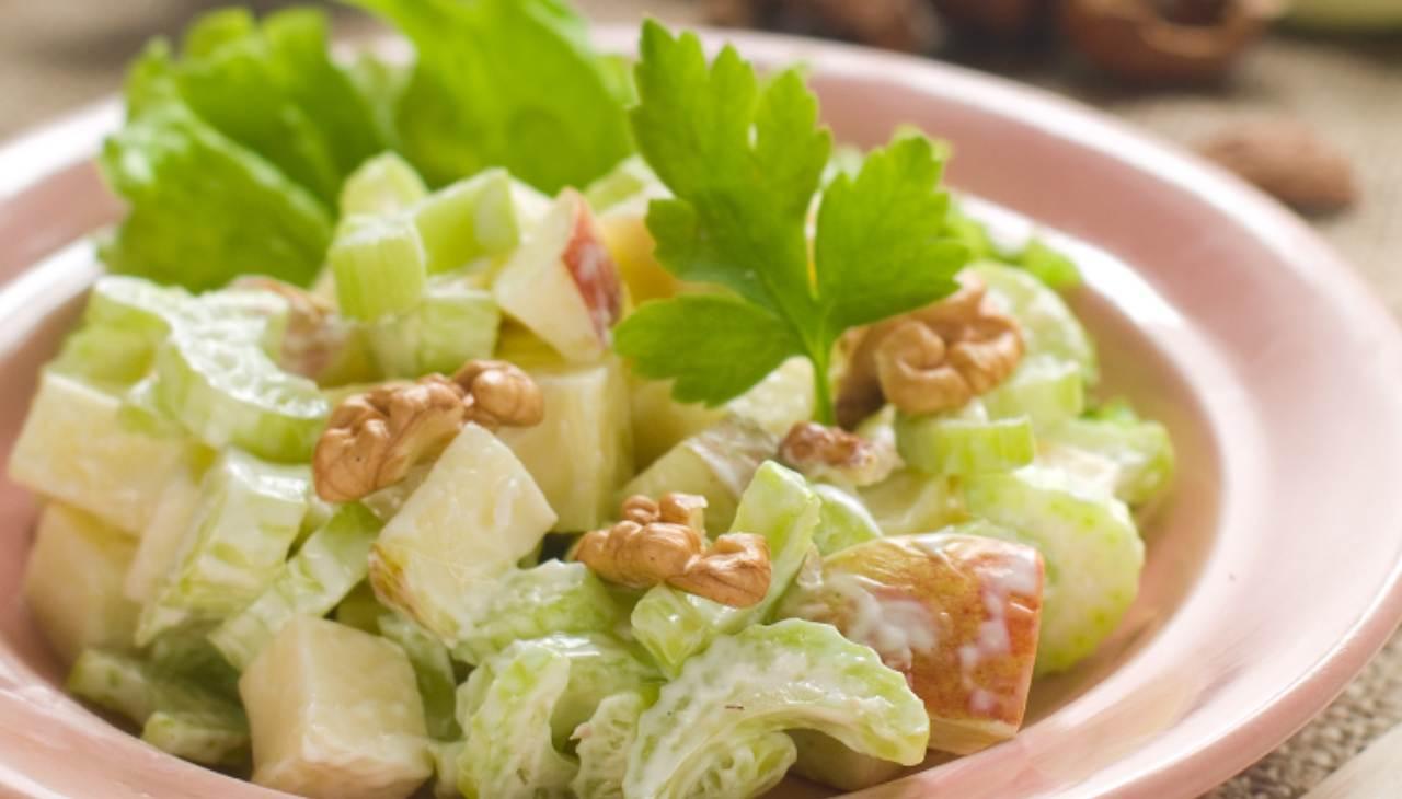 insalata veloce finger food