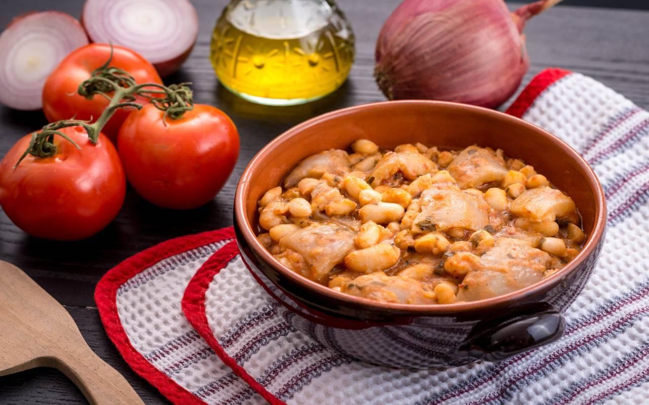 secondo piatto di fagioli FOTO ricettasprint