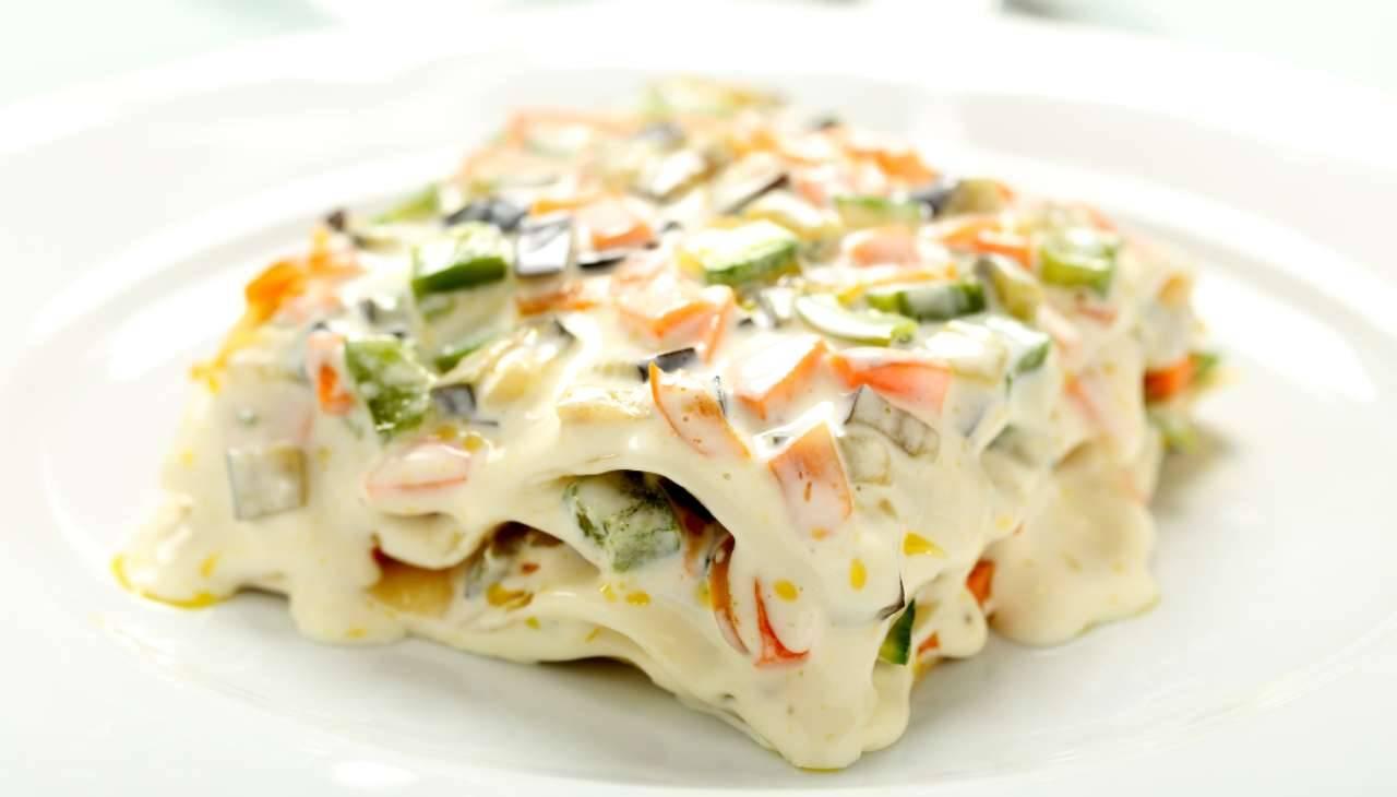 lasagna finger food senza forno