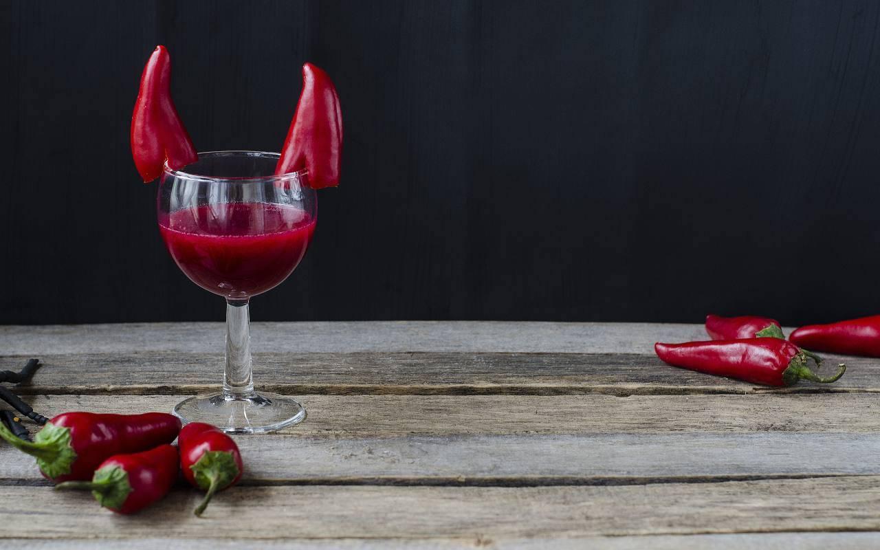Bevanda con peperoncino FOTO ricettasprint