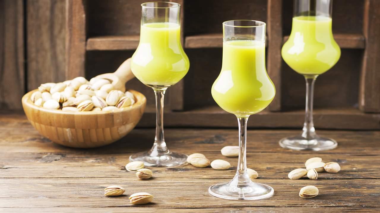 Bevanda alcolica al pistacchio