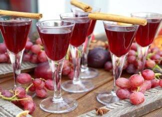 Liquore all'uva
