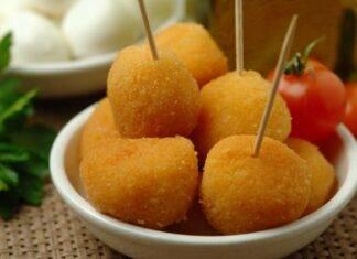 mozzarelline finger food fritto