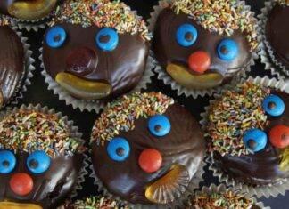 muffin sorridenti dolcetti compleanno