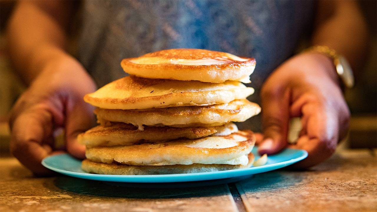 Ricetta Pancake Benedetta Rossi.Pancake Giganti Leggeri E Ipocalorici Perfetti In 80 Calorie