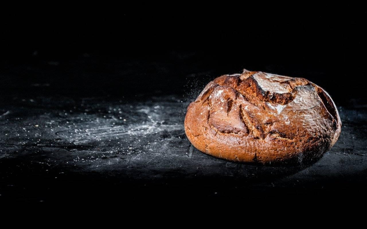 pagnotta di pane FOTO ricettasprint