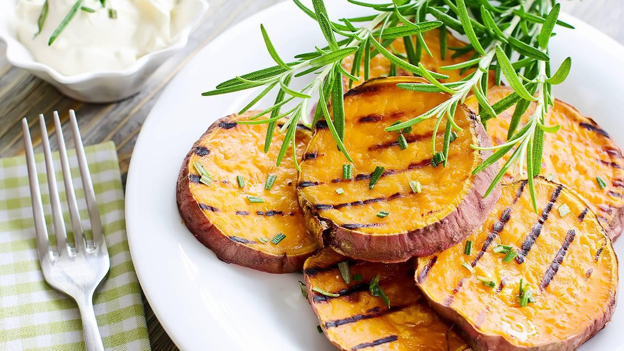 contorno di patate grigliate