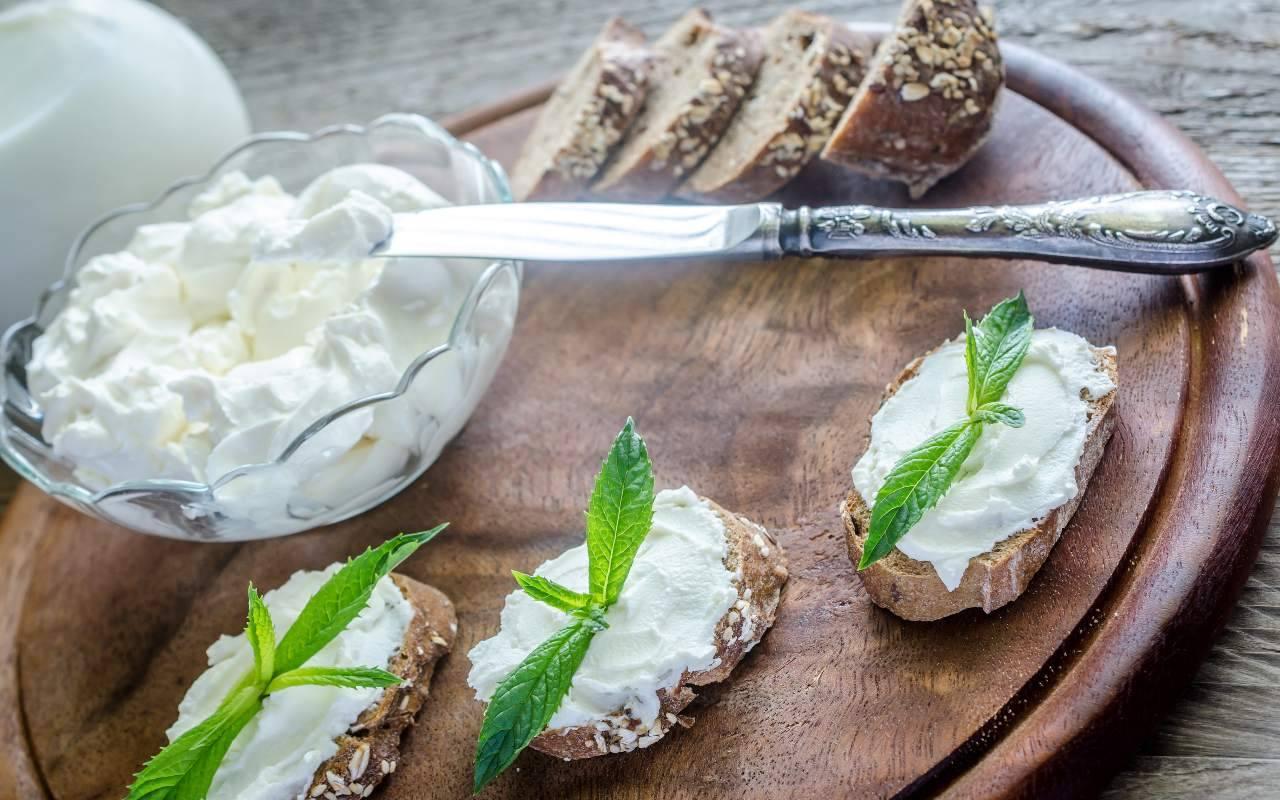 formaggio spalmabile FOTO ricettasprint