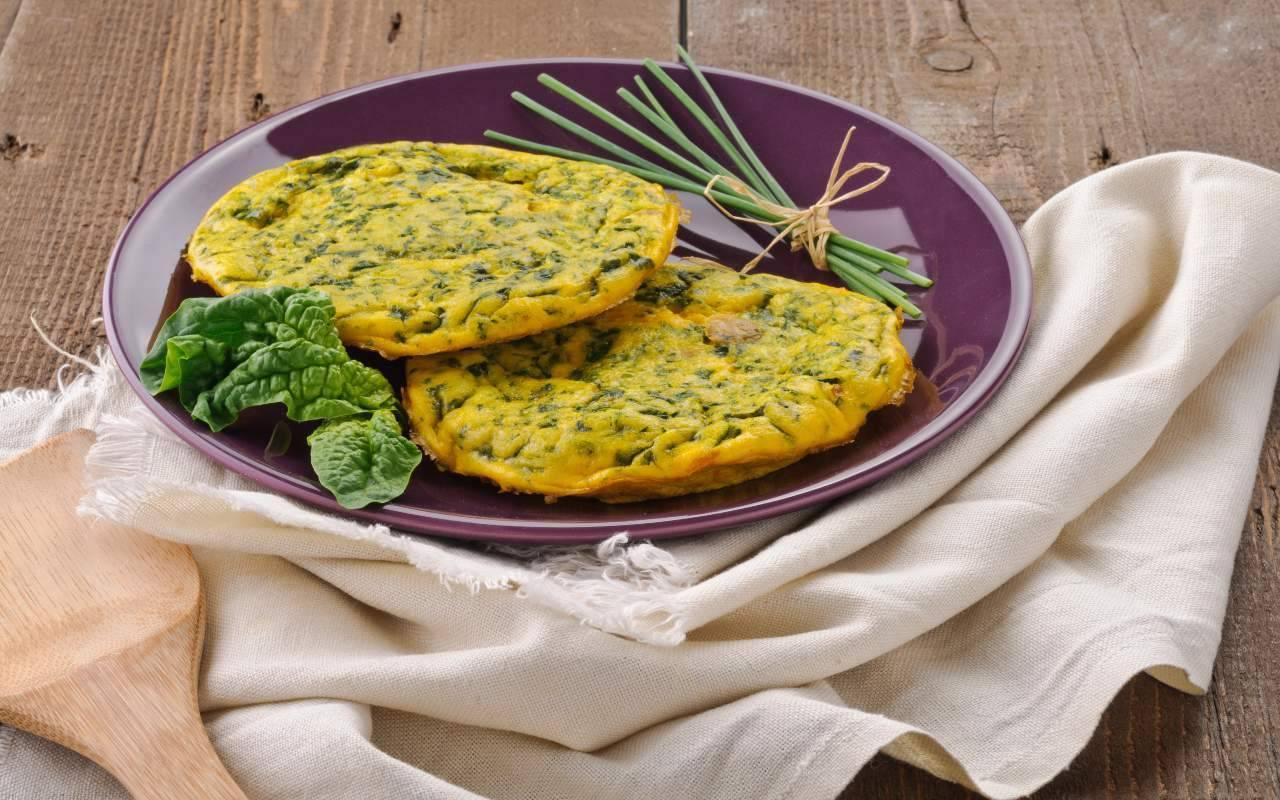 mix di spinaci e uova FOTO ricettasprint