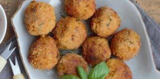 polpette finger food ortaggio fritto