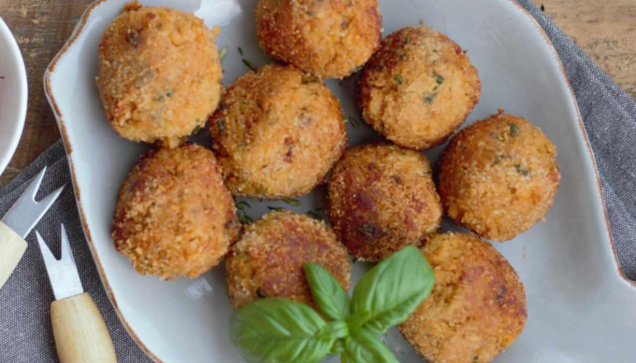 polpette finger food ortaggio