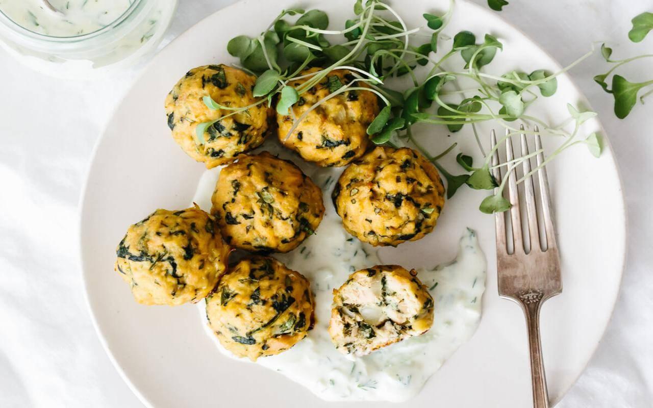 Sfere di formaggio e zucchine FOTO ricettasprint
