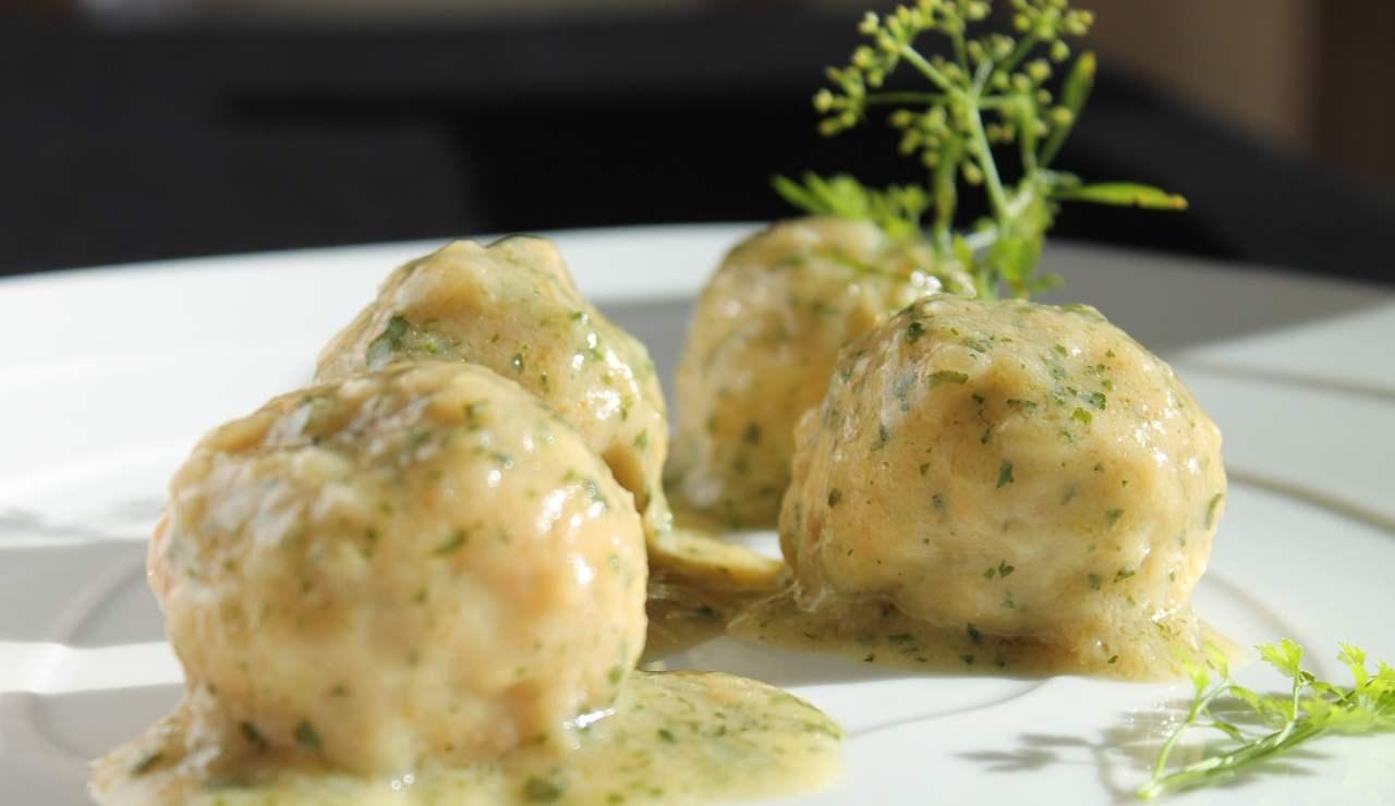 Polpettine di pollo e finocchietto ricettasprint