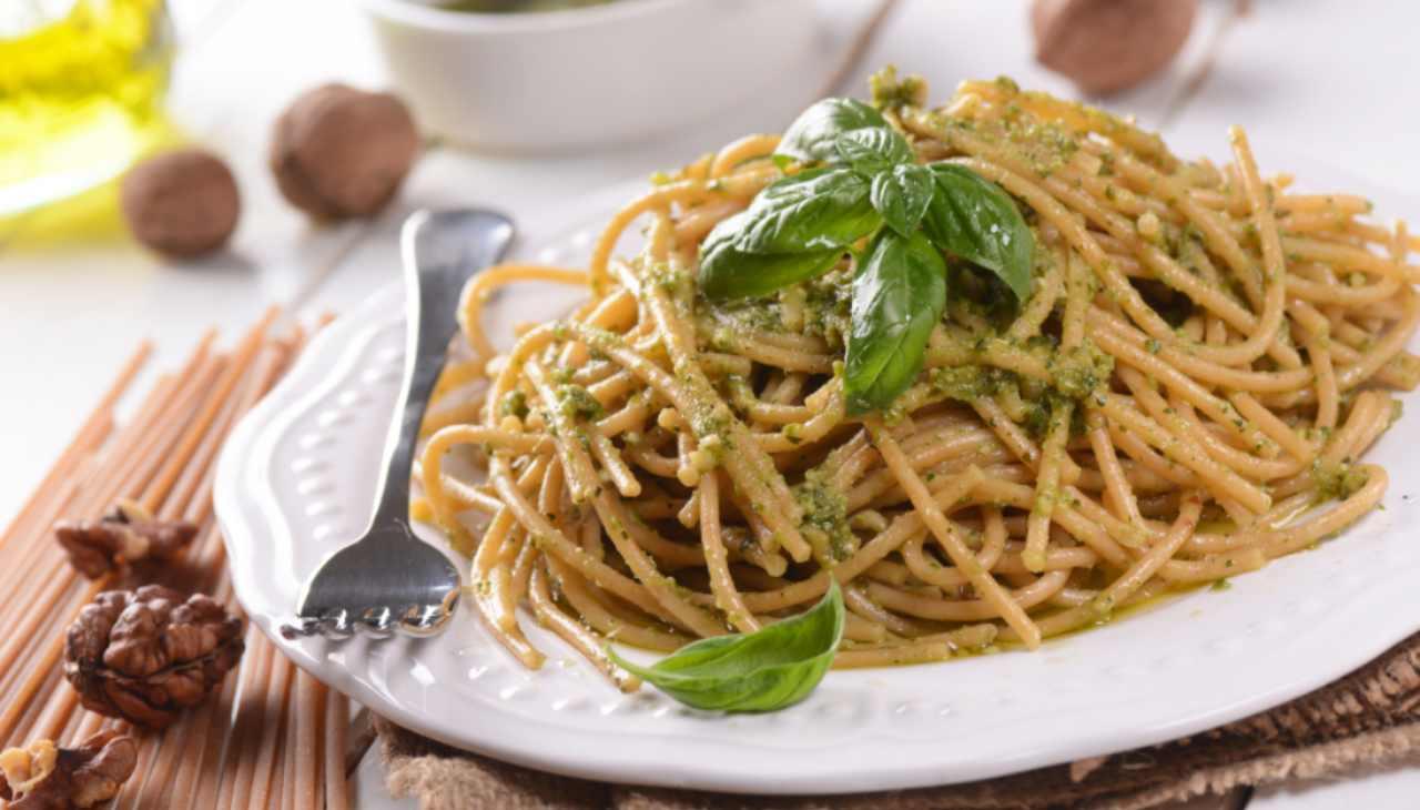spaghetti primo integrale veloce