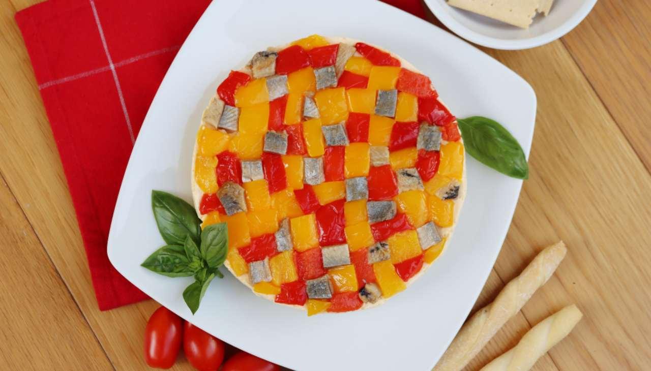 torta finger food peperoni