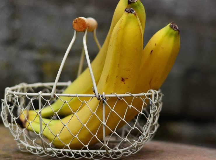 torta dolce semplice banana