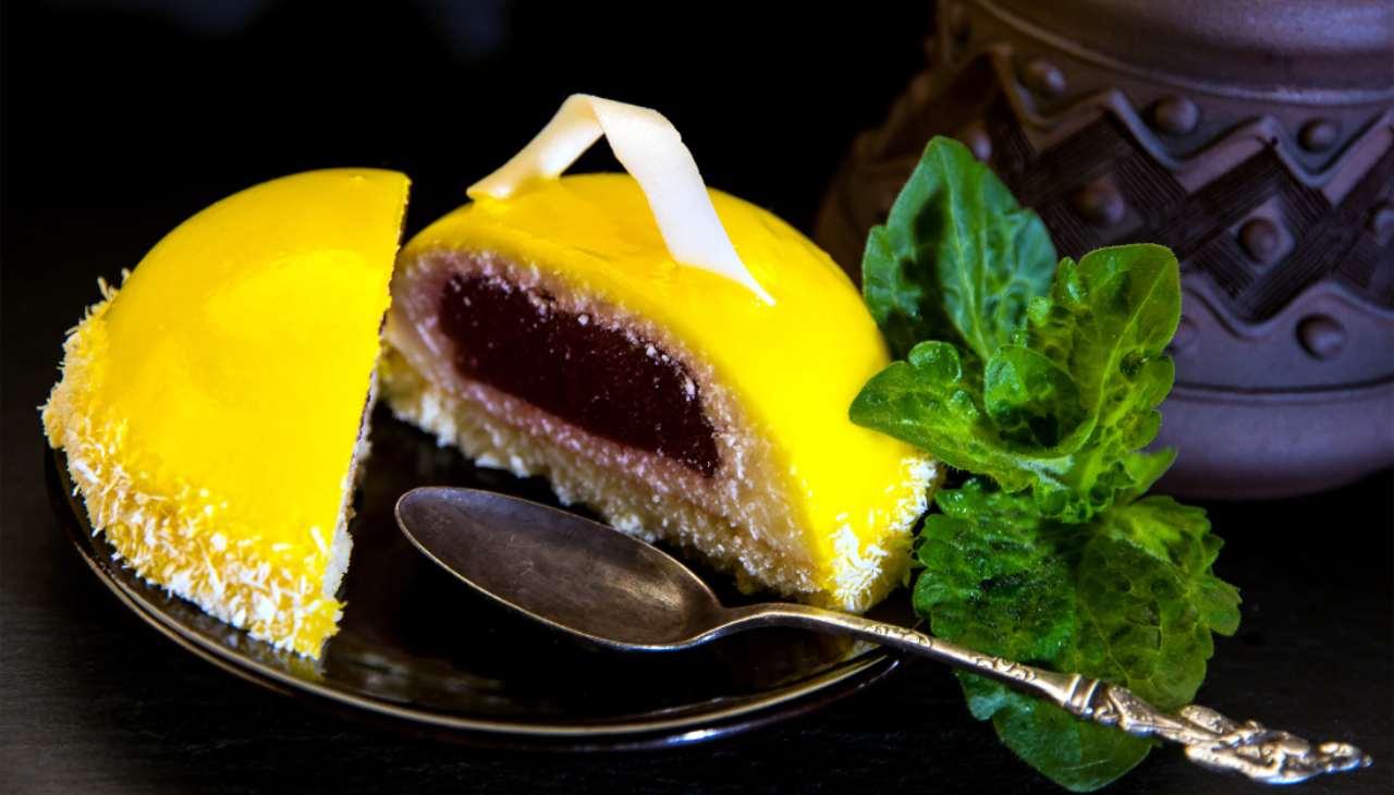 torta monoporzione dolce frutta fresco