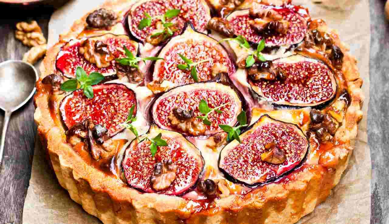 Torta salata prosciutto ricotta e fichi ricettasprint
