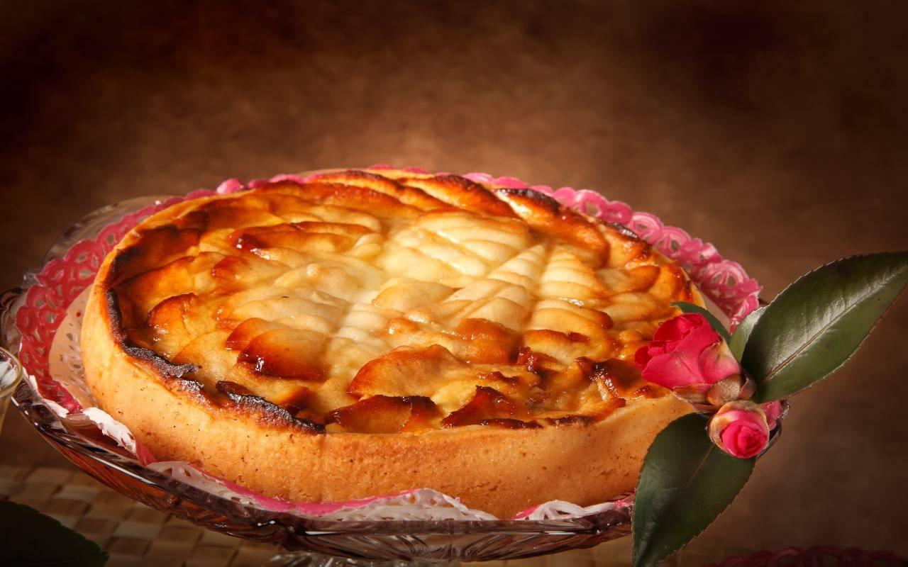 dolce di sfoglia alle mele FOTO ricettasprint