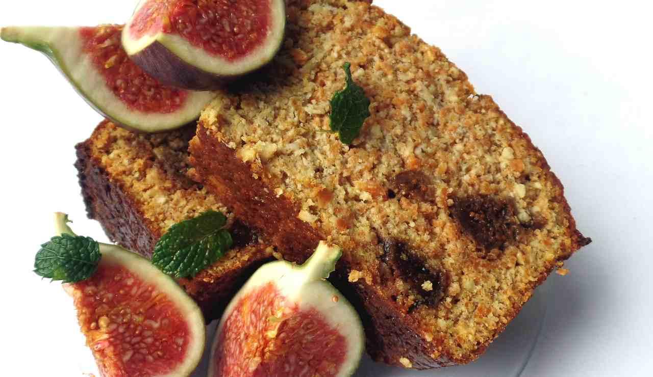 Torta soffice integrale fichi e miele ricettasprint