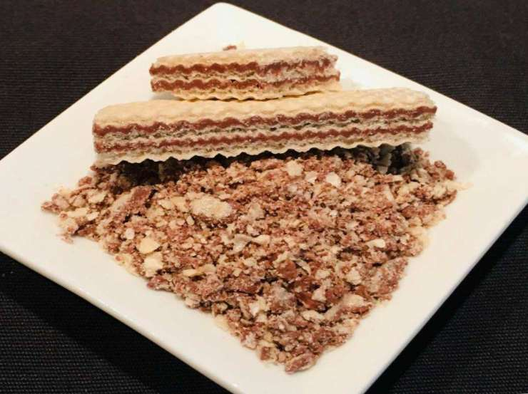 Torta wafer FOTO ricettasprint