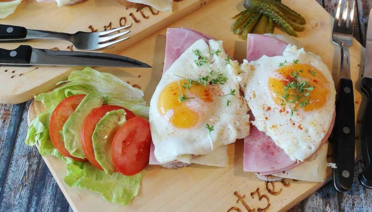 uovo colazione italo americana
