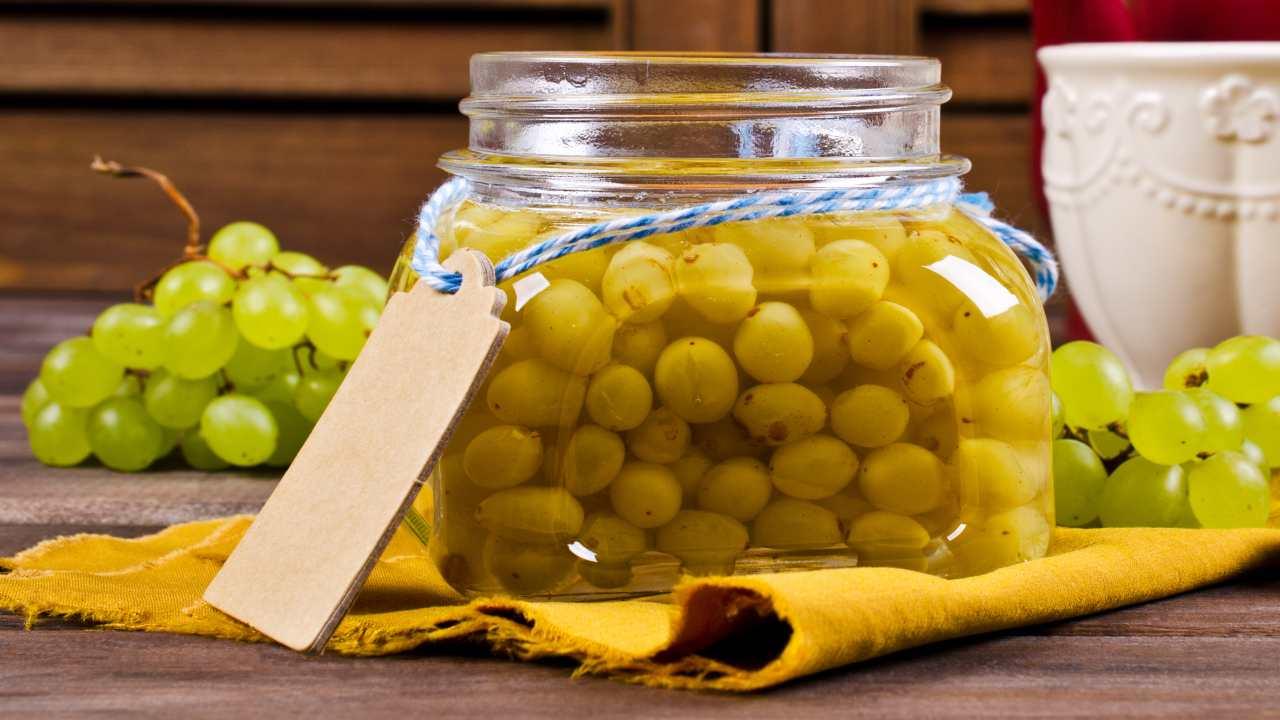 Conserva di uva