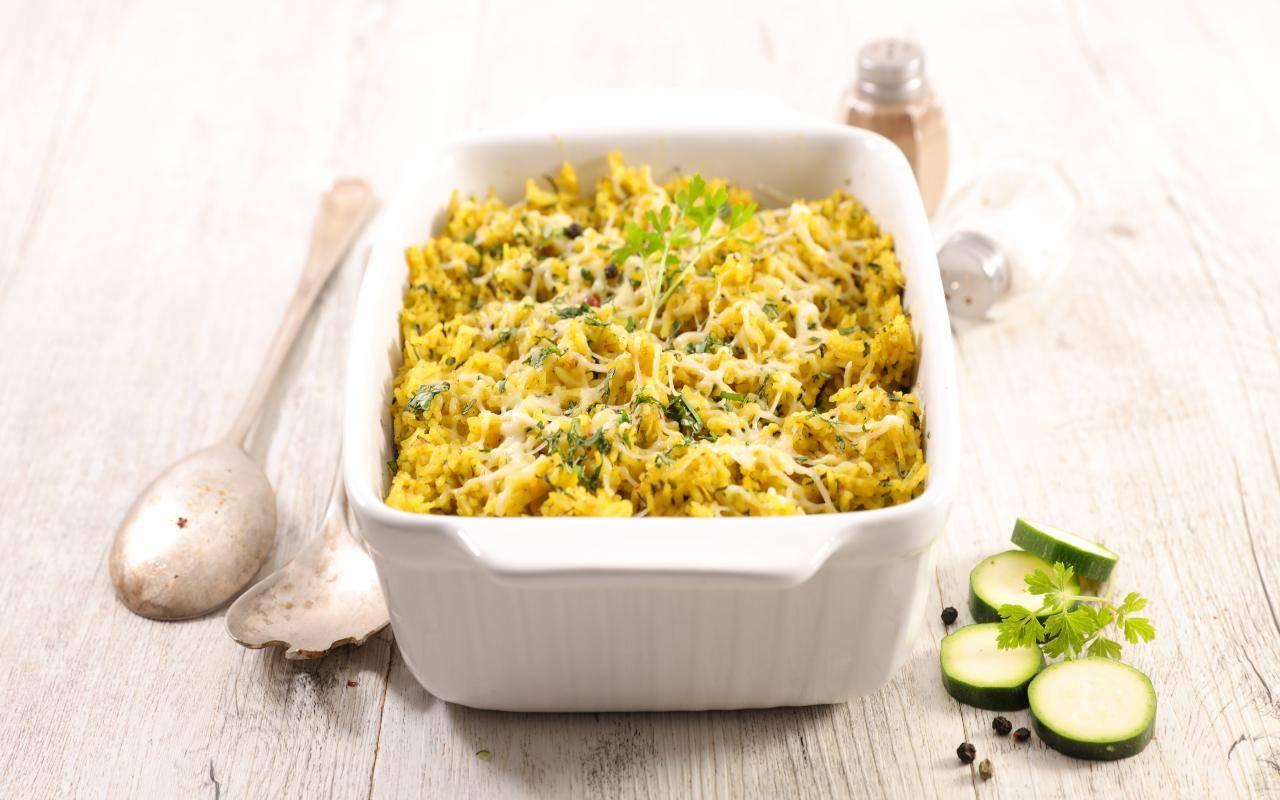 timballo di zucchine FOTO ricettasprint