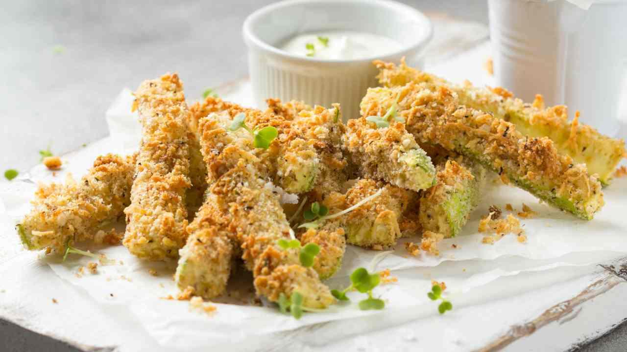 zucchine croccanti forno